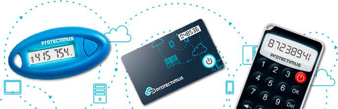 Protectimus' hardware token