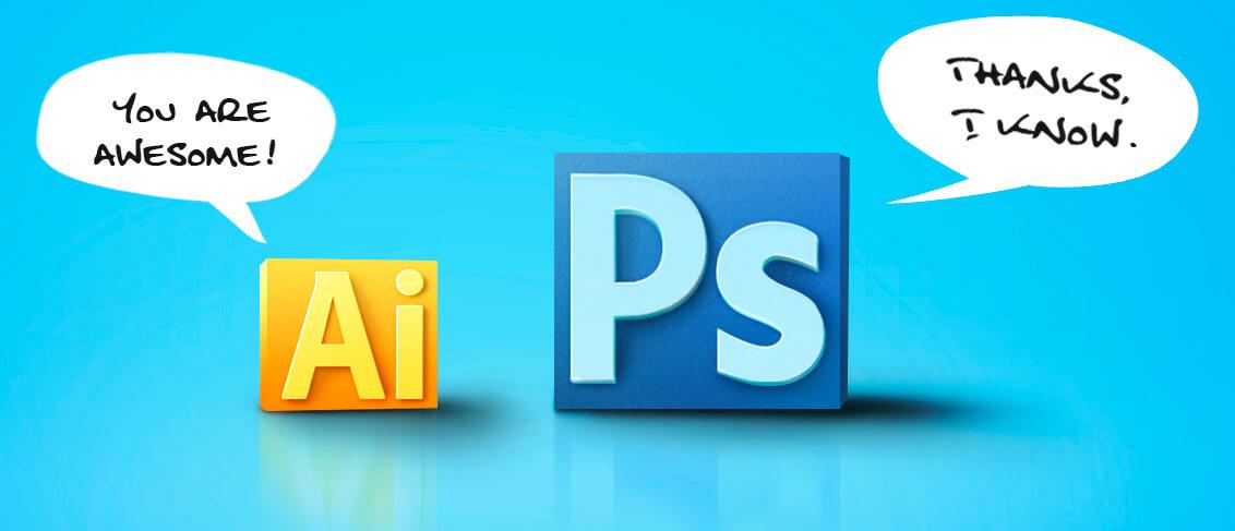 Фотошоп и иллюстратор