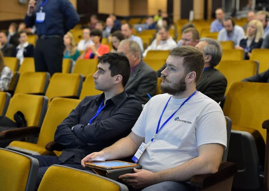 Команда Protectimus на IT Spring Forum в Днепропетровске