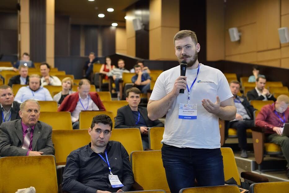 Protectimus team at IT Spring Forum