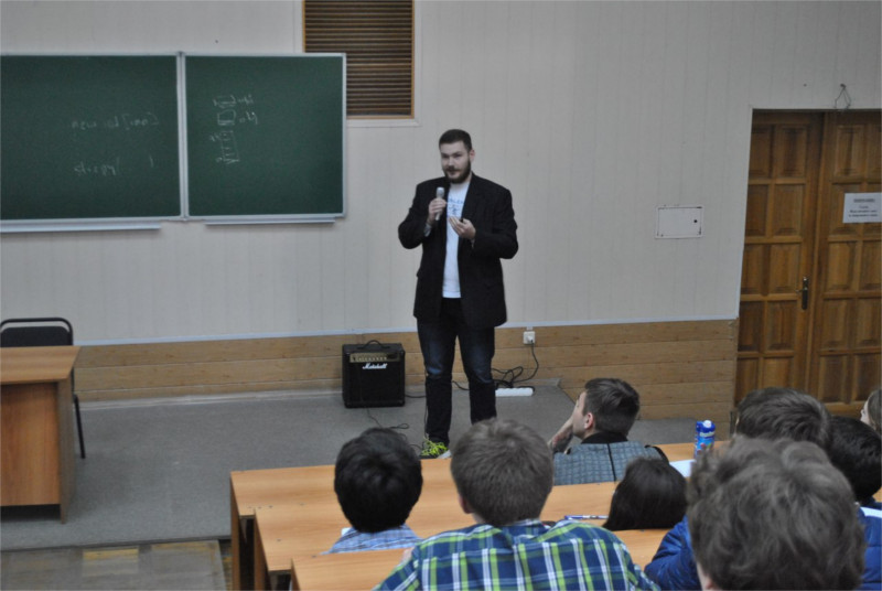 Руководитель R&D отдела компании Protectimus Денис Шокотько на конференции OWASP