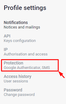How to Enable Exmo 2FA with Protectimus Slim NFC