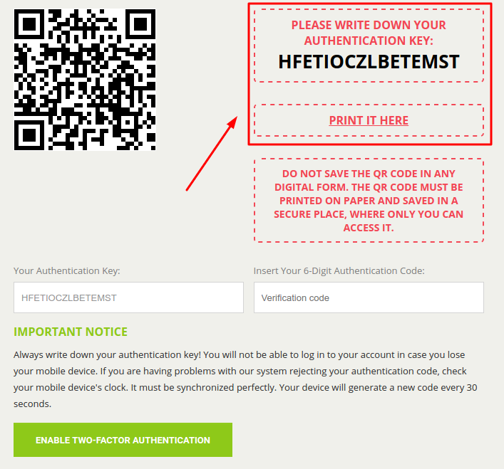 How to Enable Bitstamp 2FA with Protectimus Slim NFC
