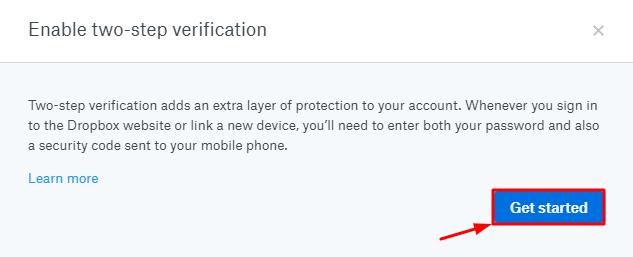 How to Enable Dropbox 2FA with Protectimus Slim NFC