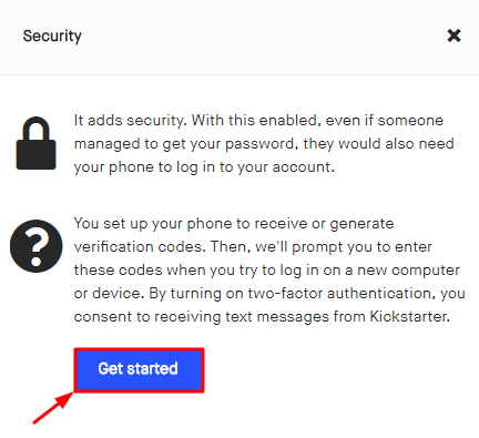 How to Enable Kickstarter 2FA with Protectimus Slim NFC