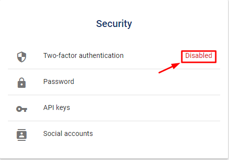 How to Enable Luno 2FA with Protectimus Slim NFC