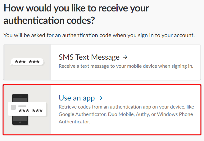 How to Enable Slack 2FA with Protectimus Slim NFC