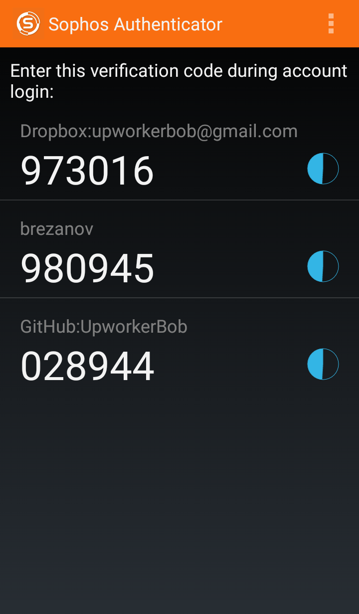 10 Most Popular Two-Factor Authentication Apps on Google Play Compared - Sophos Authenticator