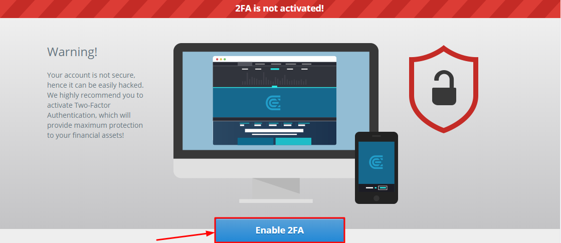 How to Enable CEX.io 2FA with Protectimus Slim NFC
