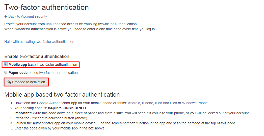 How to Enable LocalBitcoins 2FA with Protectimus Slim NFC