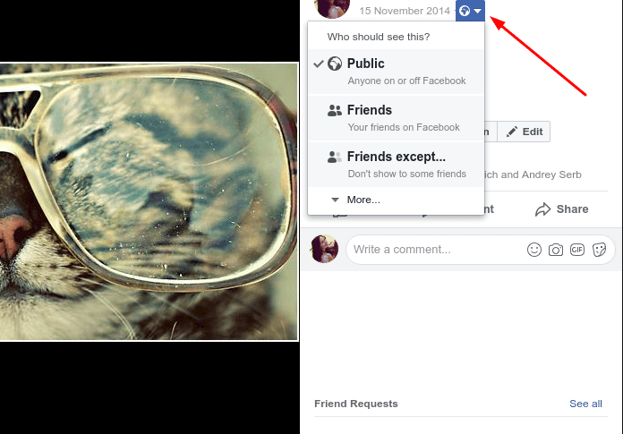 How to Change Facebook Photo Privacy Settings