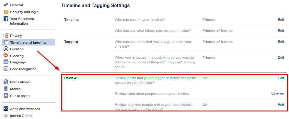 How Do I Prevent People From Tagging Me/Remove a Tag on Facebook