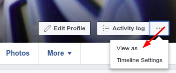 How Do I Check How Other People See My Facebook Profile