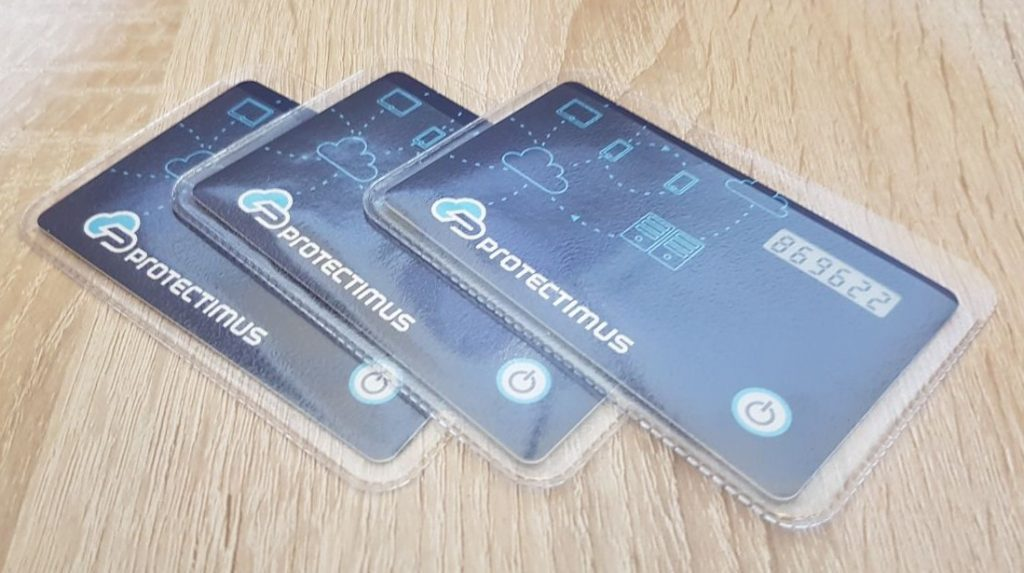 Hardware TOTP tokens Protectimus Slim NFC
