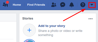 How to get to Facebook settings page
