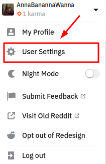 How to turn on 2FA on Reddit - User Settings