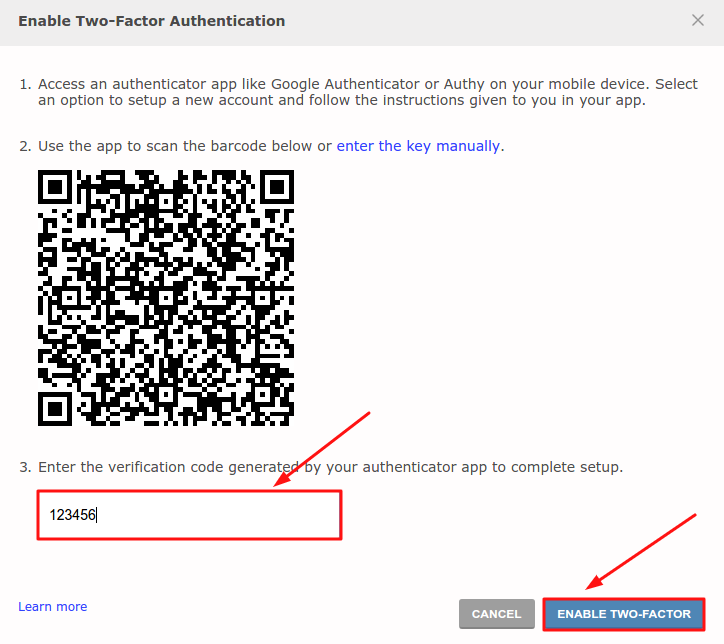 2-factor authentication on Redit - enable two-factor