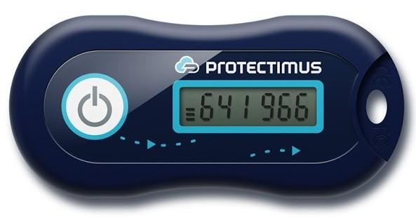 Hardware OTP token Protectimus Two